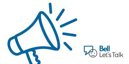 Today, for every post using #BellLetsTalk, 5 cents will be donated to #MentalHealth initiatives! https://t.co/fjpCcwunsf