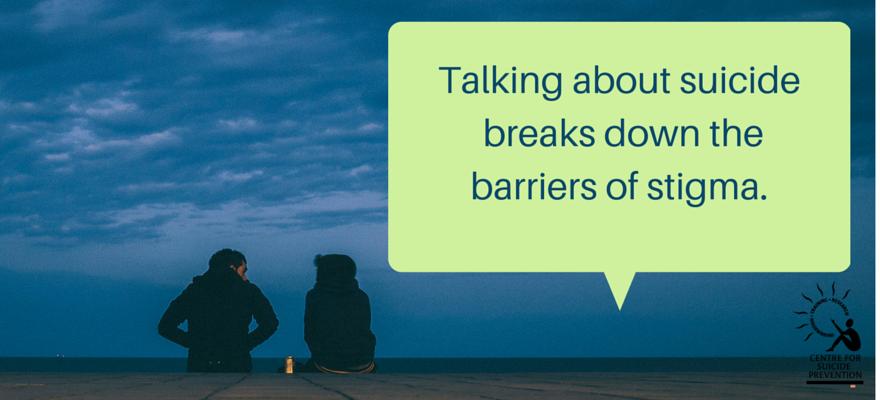 Talking openly about suicide will break down the barriers of stigma: https://t.co/CJ3LL6hn9g #BellLetsTalk https://t.co/yPiqIjUTS5