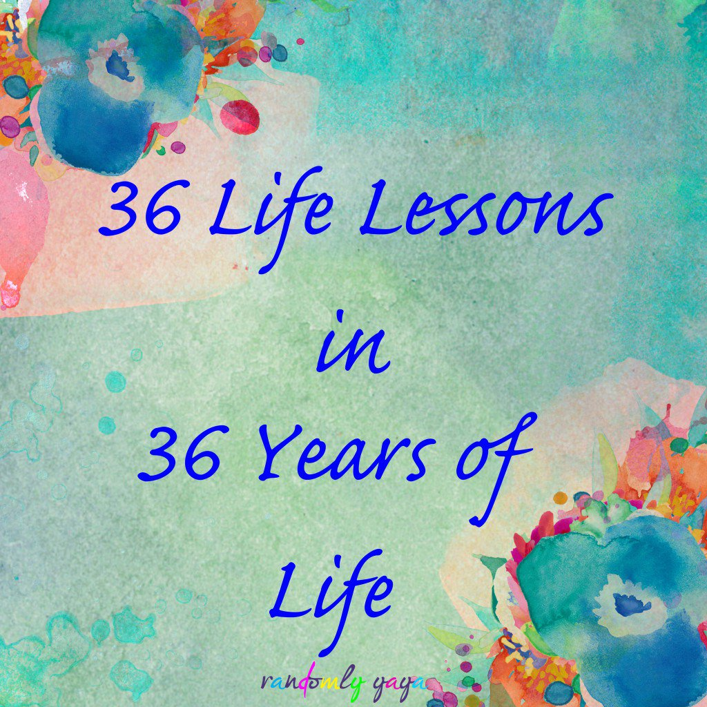 36 Life Lessons in 36 Years https://t.co/T8YpfMppsT https://t.co/DDBpCWeyeC