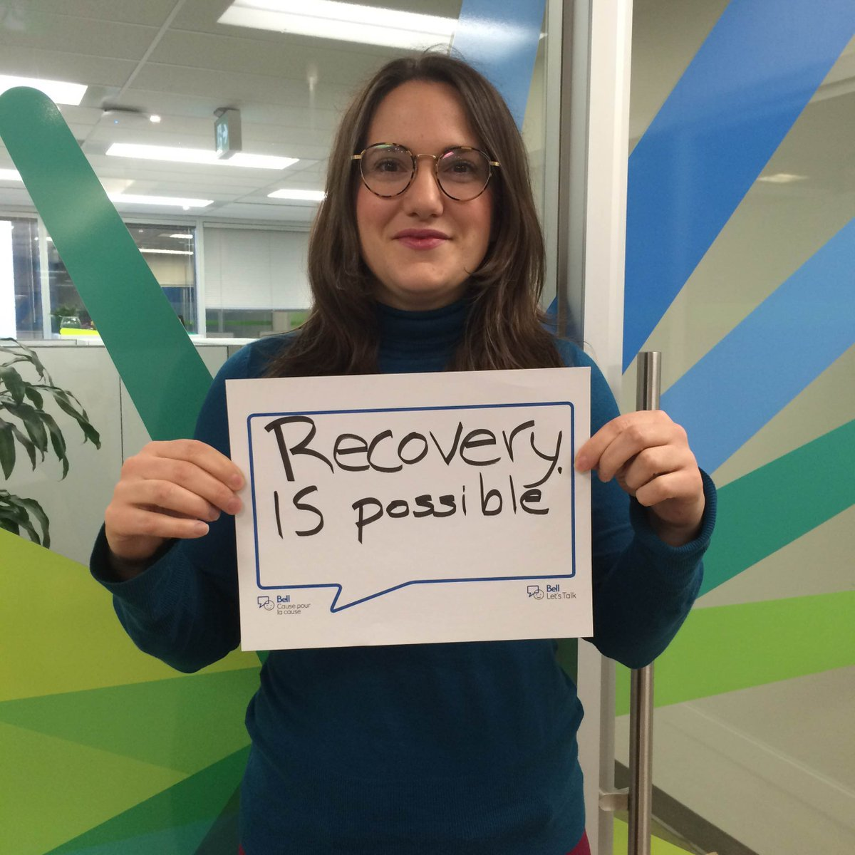 #Recovery = living a satisfying & contributing life, even w/ ongoing limitations from #mentalillness #BellLetsTalk https://t.co/SPK6SRXMqh