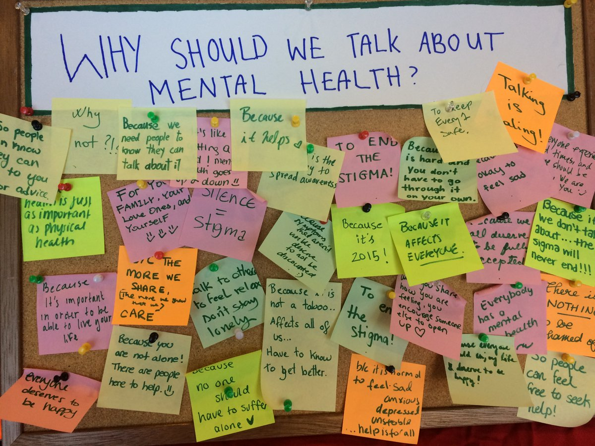What are your reasons to talk about mental health? #BellLetsTalk #letsendthestigma #mcgill https://t.co/ByDnTa0WyG