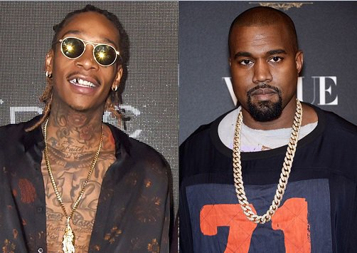 Kanye West & Wiz Khalifa's Twitter feud is all that matters right now.