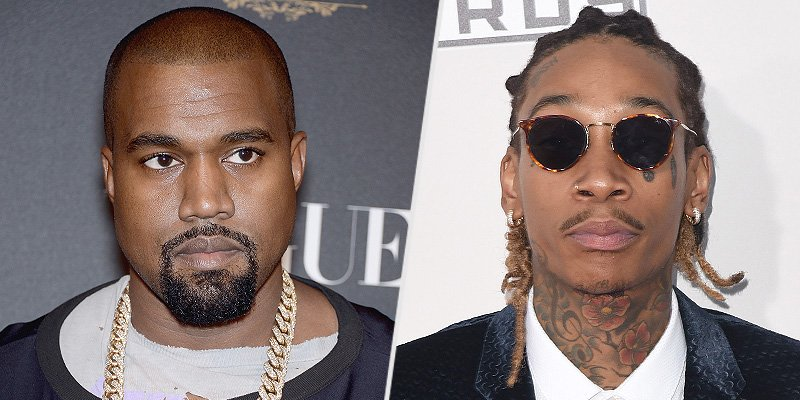 Kanye West and Wiz Khalifa spark Twitter feud: 'You let a stripper trap you'