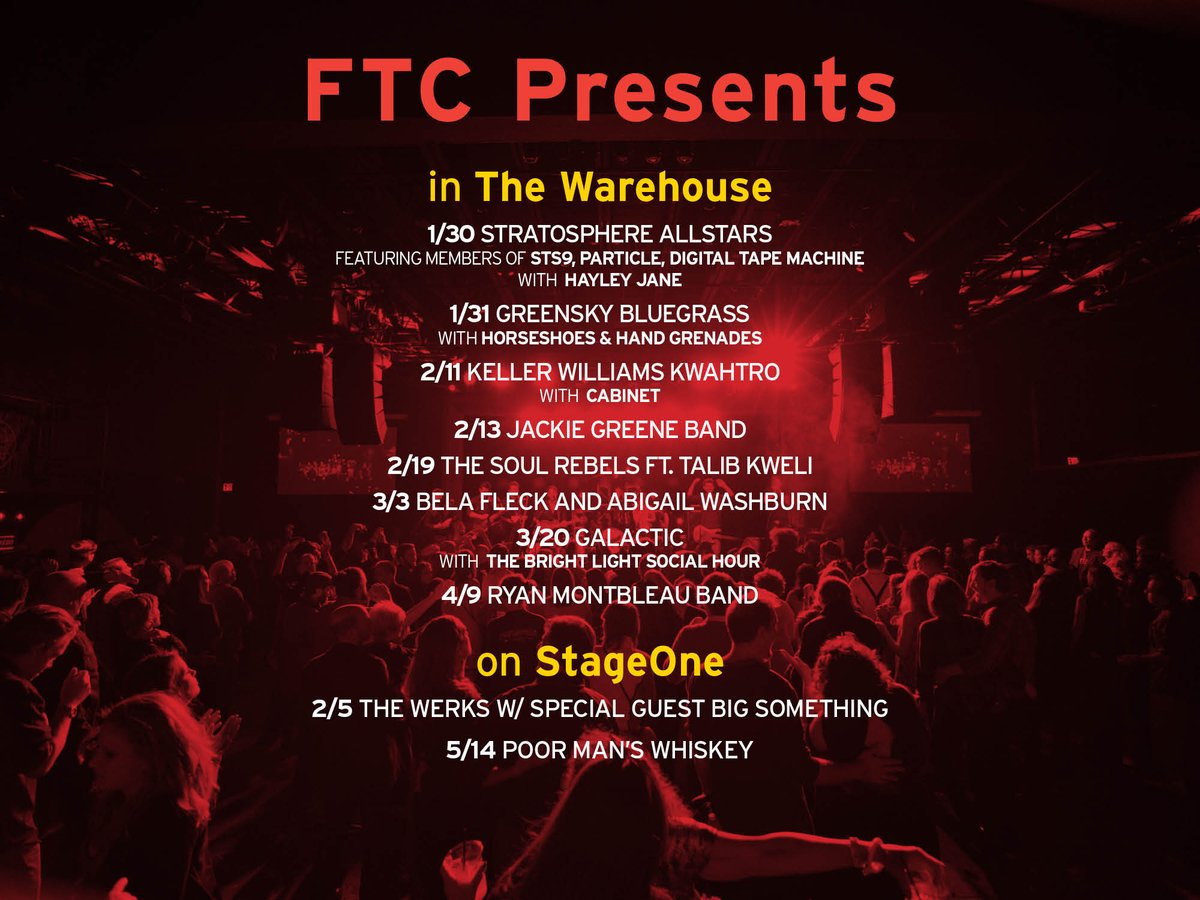 The cold is getting to us. Free-ticket-sunshine might do the trick. RT to WIN 4 tix to any @FTCPresents show listed! https://t.co/Fb3Gc0LIp4