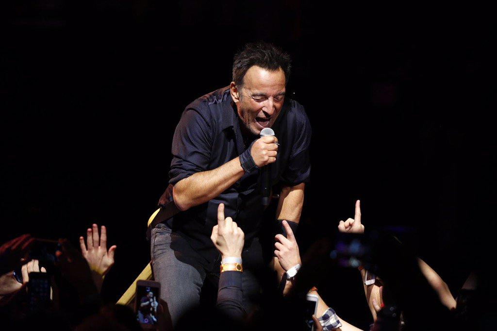Bruce Springsteen And The E Street Band Madison Square Garden New York Ny On 1 27 2016