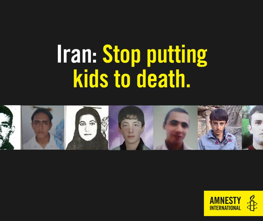In 10 yrs, #Iran has put 73 kids to death. This has to stop. Sign our petition> https://t.co/dr7dGOoP8l https://t.co/cAJhcX4r5N