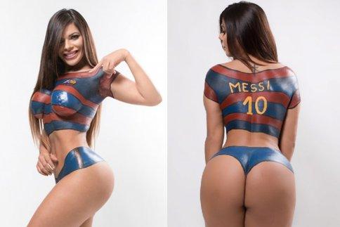 RT @sports_fr: #Football Miss Bumbum 2015 carrément nue pour Messi https://t.co/DzIDBK1Dn2 https://t.co/4DgA8l47vc