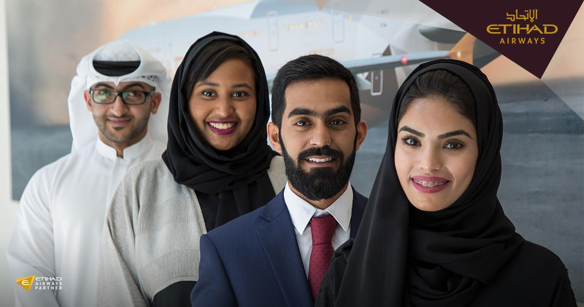 Take your career to new heights with Etihad Airways. Visit us at Tawdheef on 1-3 Feb More: