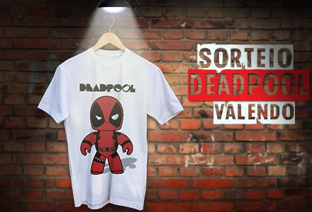 Que tal concorrer a esta camiseta exclusiva do DeadPool. Curta, participe e convide amigos. https://t.co/QyDL9H37ao https://t.co/TPLFpqRA8g