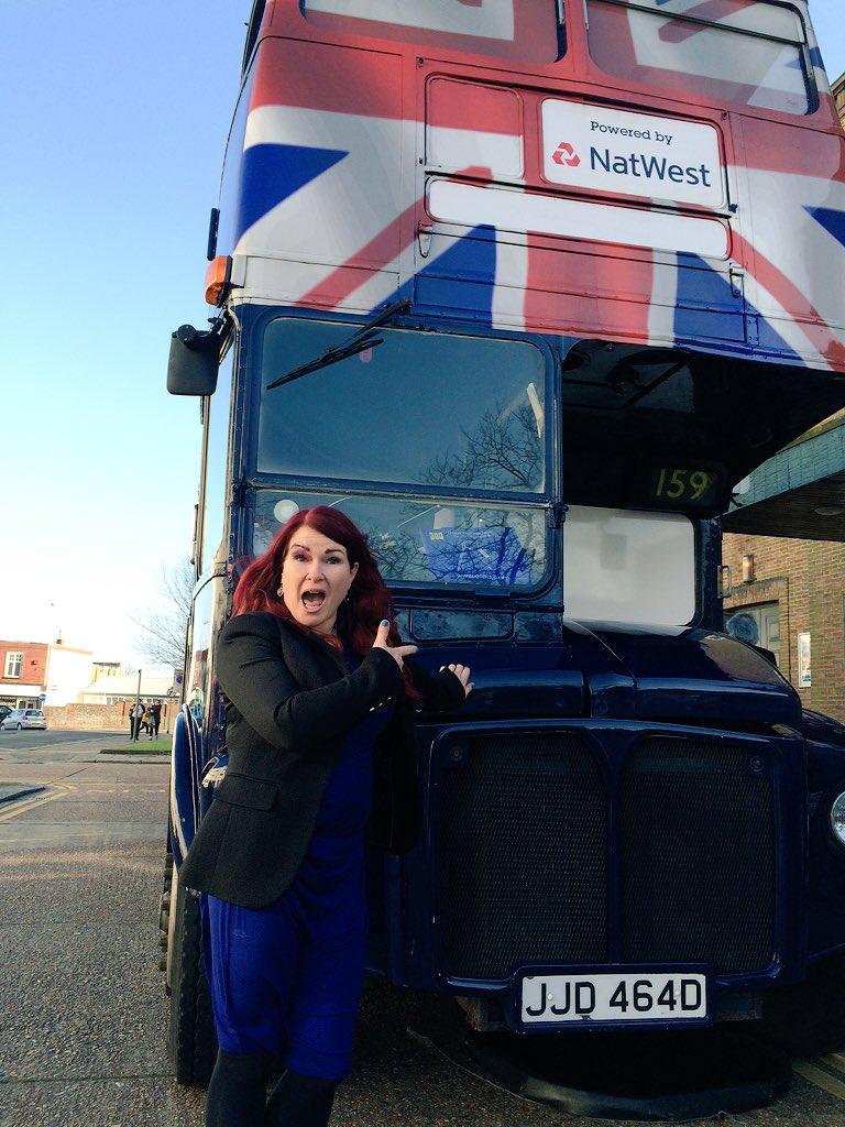 Looks it the @NatWestBusiness Bus! #betterbizshow @SaraGuiel @NickHEnterprise https://t.co/AUEiielN5M