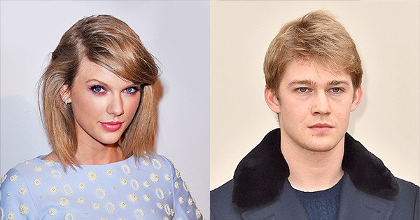 Taylor Swift had a blank space (baby) and wrote Joe Alwyn in. The two are reportedly dating.