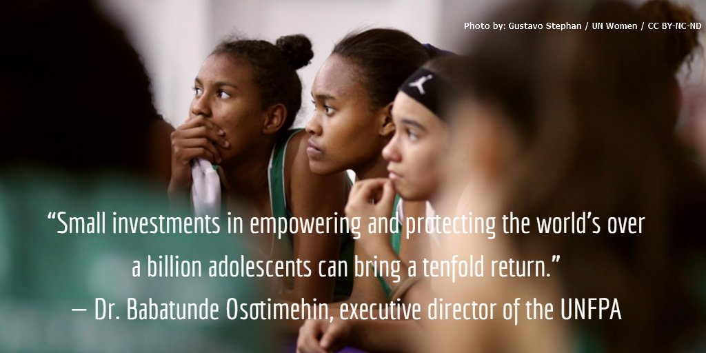 test Twitter Media - Investments in #health and #education of #adolescents can bring huge returns. @UNFPA https://t.co/yJ3C92wWLD https://t.co/xMrb6iT6rm