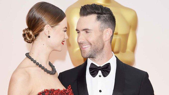 Adam Levine Wishes Baddest Wife Behati Prinsloo Happy Birthday