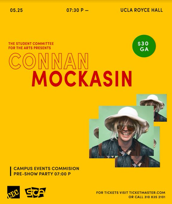 Win a pair of tickets to Connan Mockasin 5/25!