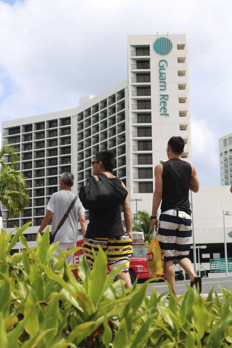 Guam residents cast wary eye at North Korea after launch