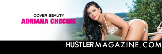 Hey guys guess who's on the cover of @HustlerMag go get a copy today!!🙌🏻❤️ https://t.co/fB1D71I6bf