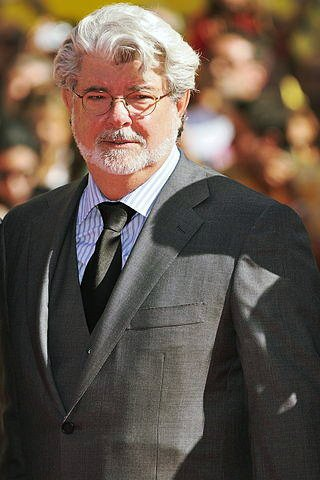 """Thank the maker!\""  Happy 73rd birthday to George Lucas!"