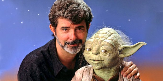 A massive Happy Birthday to the Maker Himself - George Lucas!
