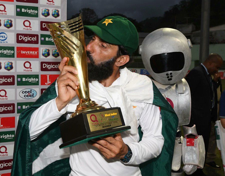 Pakistan farewell Misbah, Younis with dramatic win over West Indies