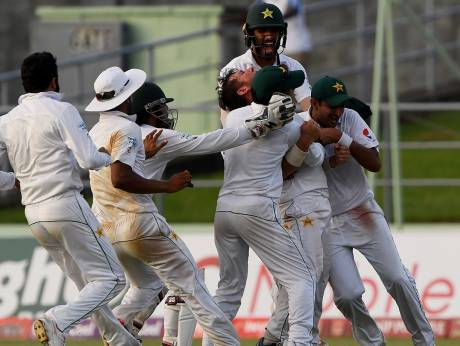 Pakistan win West Indies thriller to make history