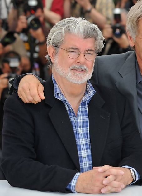Happy birthday to creator George Lucas! He turns 73 today.