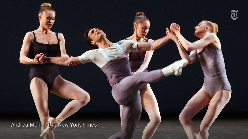 Justin Peck's latest creation seems to be coolly composing a new grammar https://t.co/pTdXzRJ5XG https://t.co/dfdr69QA7x