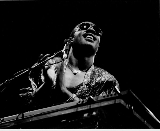 Happy Birthday to the great Steve Wonder, May 13. © David Williams
