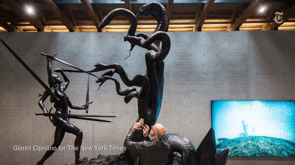 Highlights from the first week of the Venice Biennale https://t.co/knf6fEne1R https://t.co/z4rxXaExHf