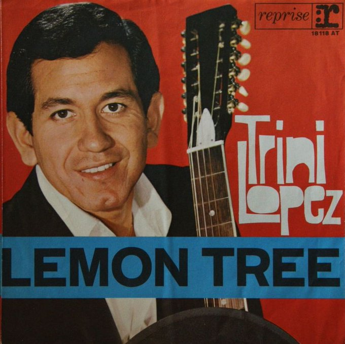 Happy birthday TRINI LOPEZ