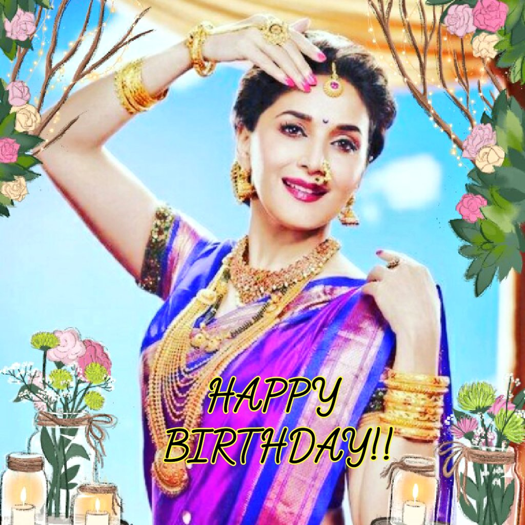 HAPPY BIRTHDAY MADHURI DIXIT    DANCING QUEEN