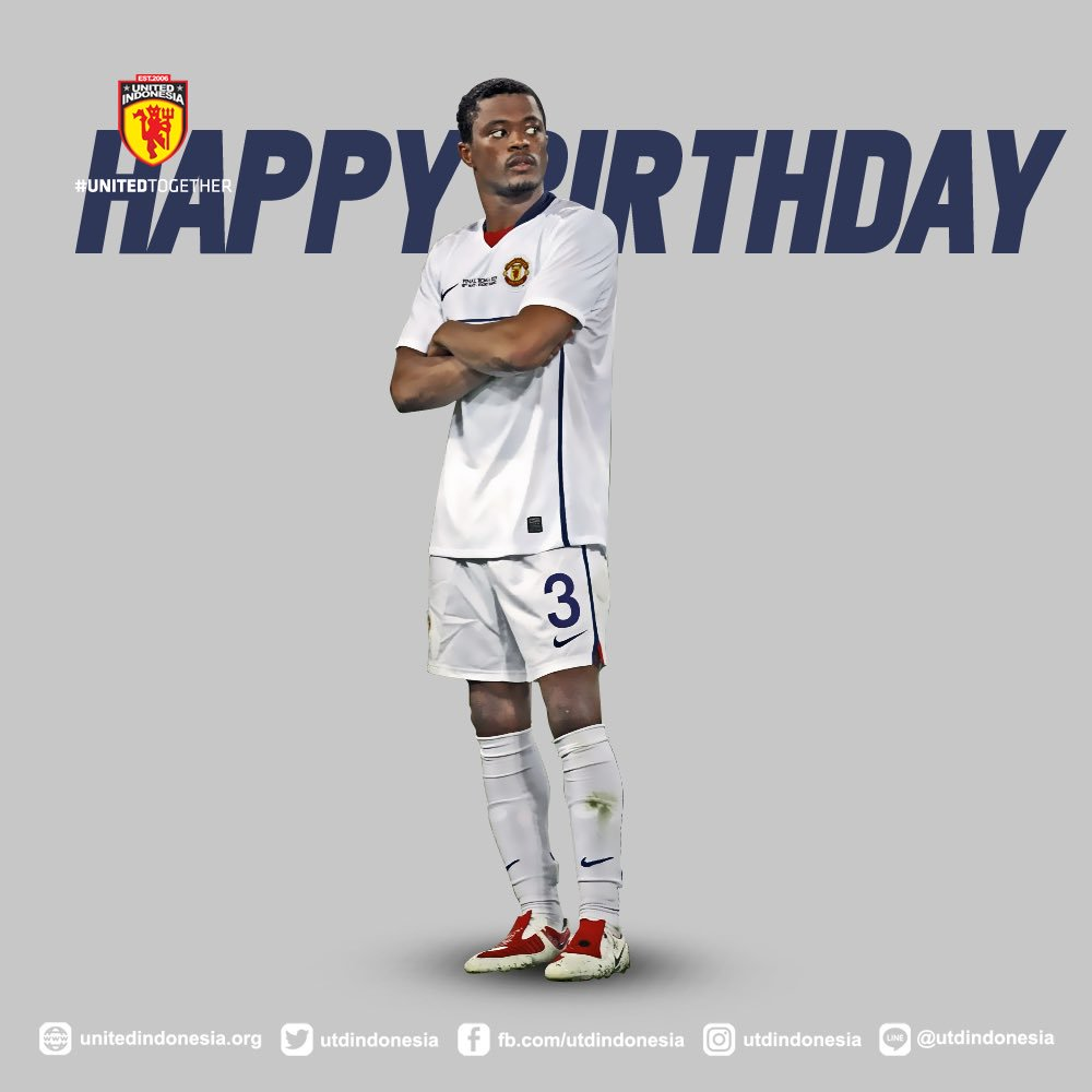 Happy Birthday Patrice Wish you all the best from Indonesia!