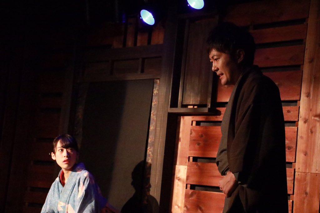 今回、4月の #乱歩奇譚 でご一緒した(当時は脚本演出と出演者の関係)女優・宮島小百合ちゃんと共演できたこと、嬉しかった