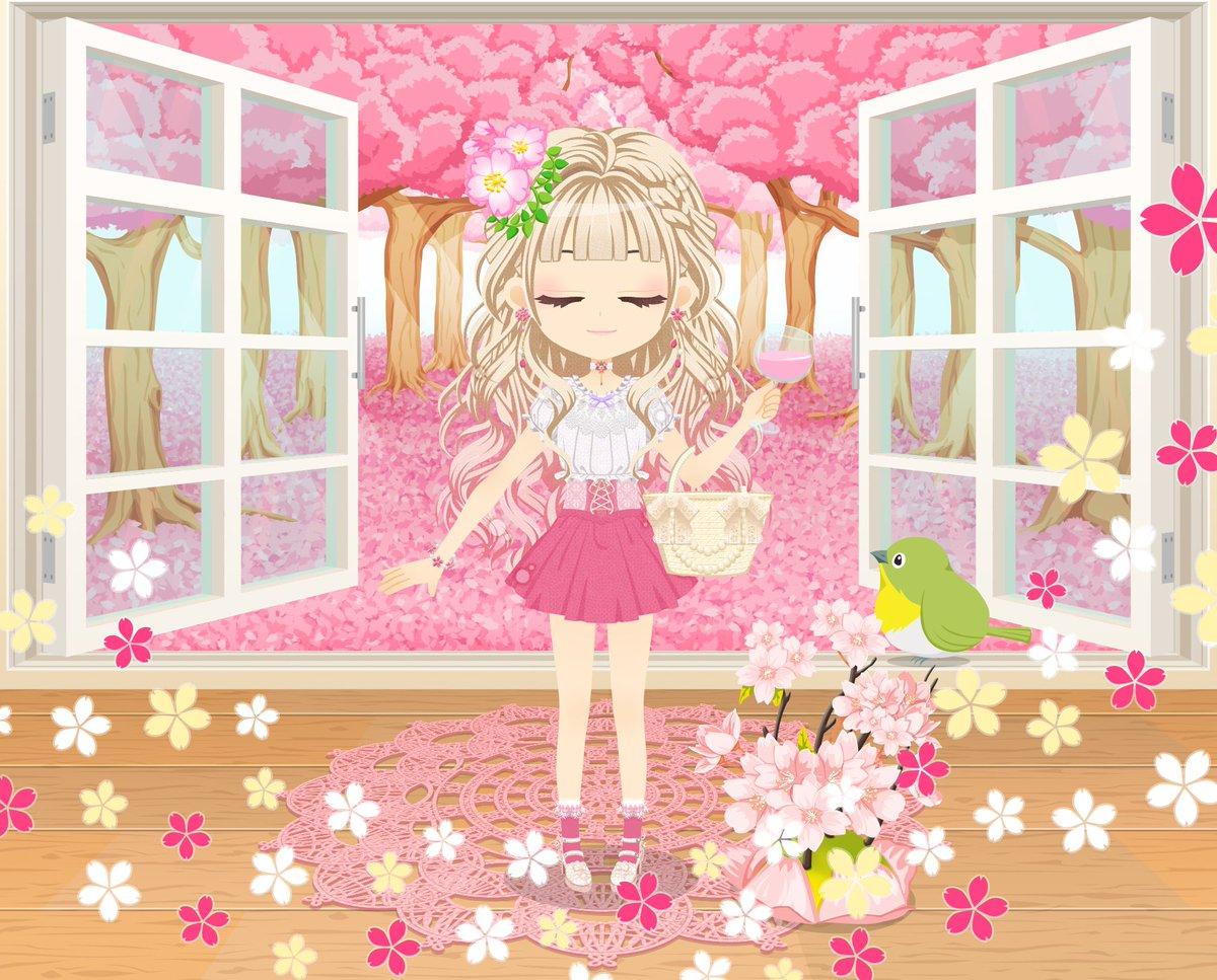【💓ぴゅあこい〜ふたりの花咲くさくら日和〜💓開催中‼️】みなさま、ガチャは回しましたでしょうか🙆💖ミニシナリオ📔が付いて