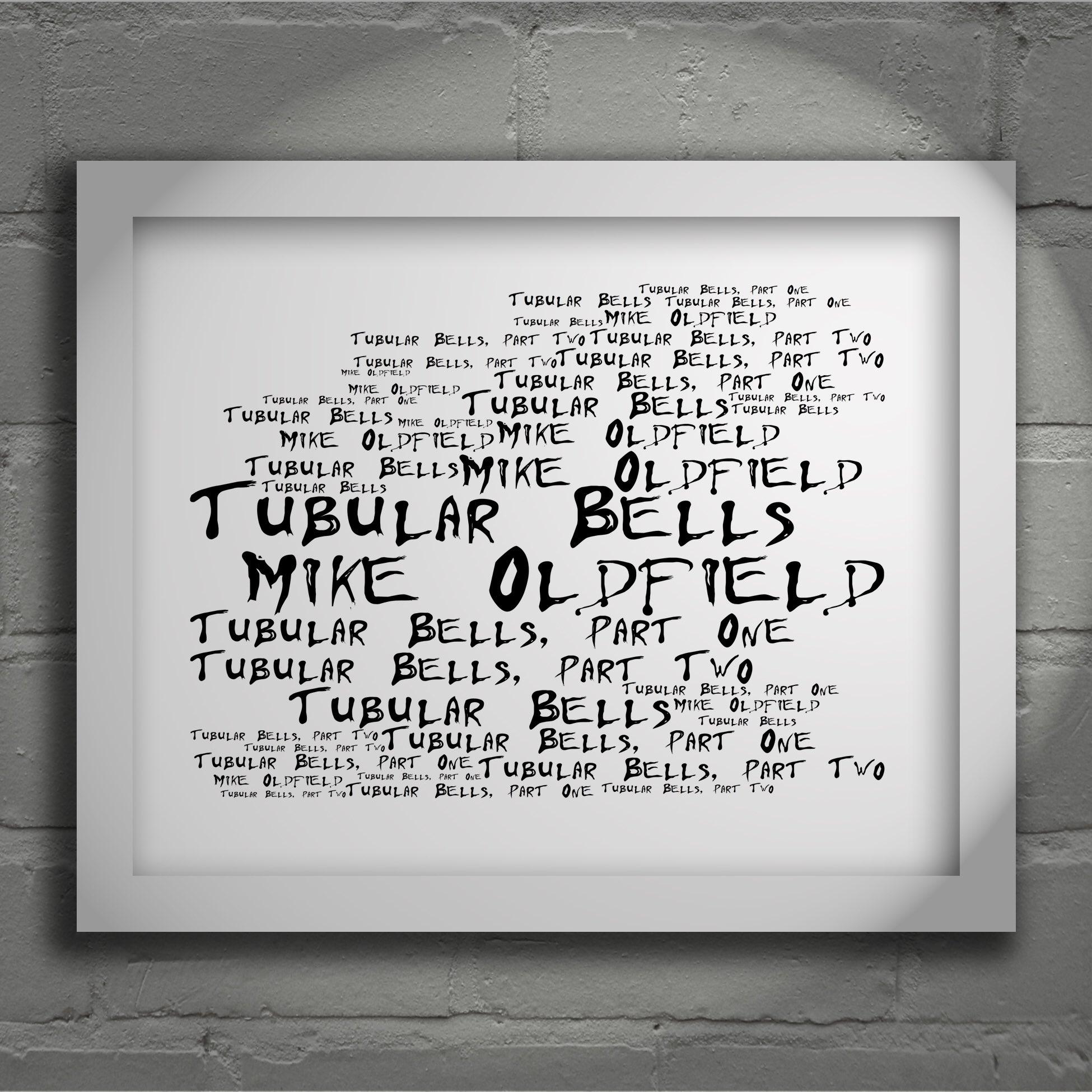 Happy Birthday Mike Oldfield!  Amazon/Etsy/EBay - Lissome Art Studio