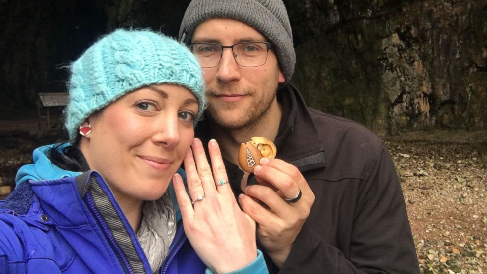 Woman unknowingly wore her engagement ring hidden in necklace for a year
