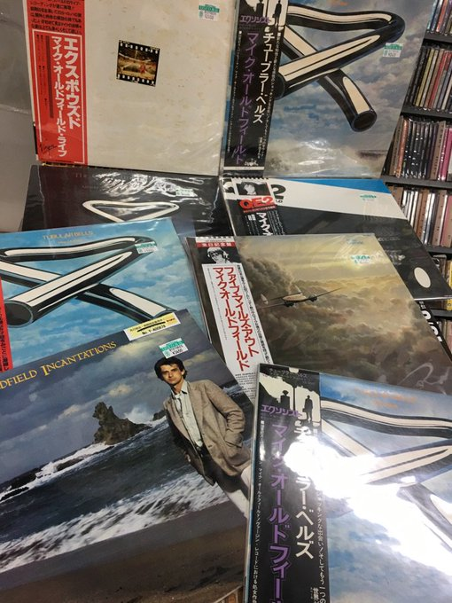 15th May Happy Birthday! MIKE OLDFIELD!   USEDLP