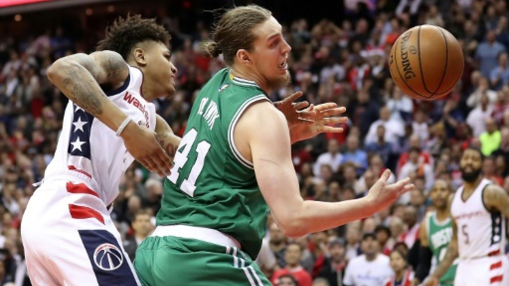 NBA Celtics robbed of time in loss to Wizards