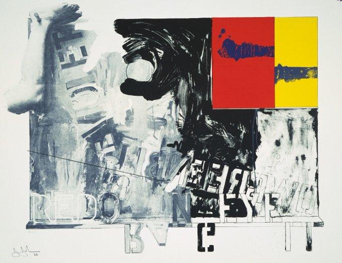 Happy birthday Jasper Johns Passage I 1966