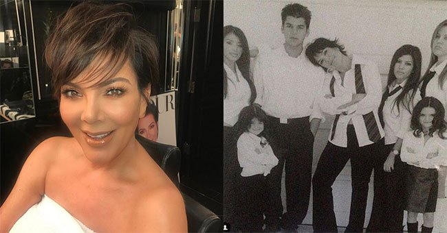Kris Jenner's Instagram followers are angry about her Mother's Day post...