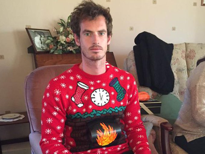 Happy 30th birthday Andy Murray! Doesn\t he look delighted?