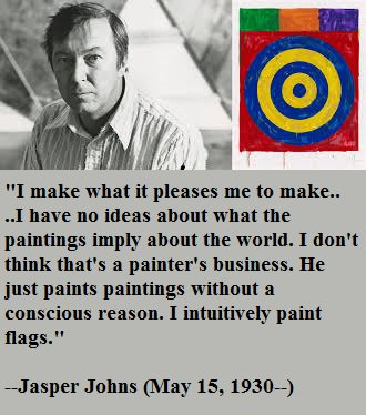 Happy birthday, Jasper Johns!