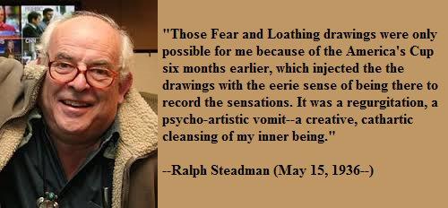 Happy birthday, Ralph Steadman!