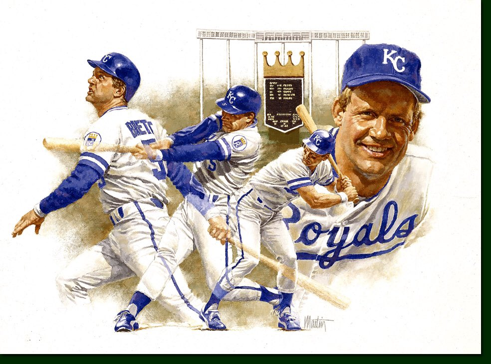 Happy Birthday to our hall of famer George Brett!!