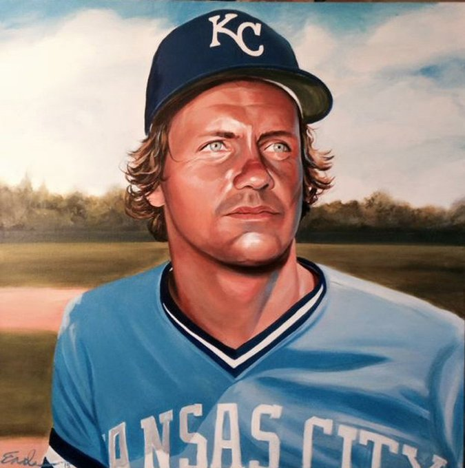 Happy birthday to the greatest Royal of all time, George Brett!