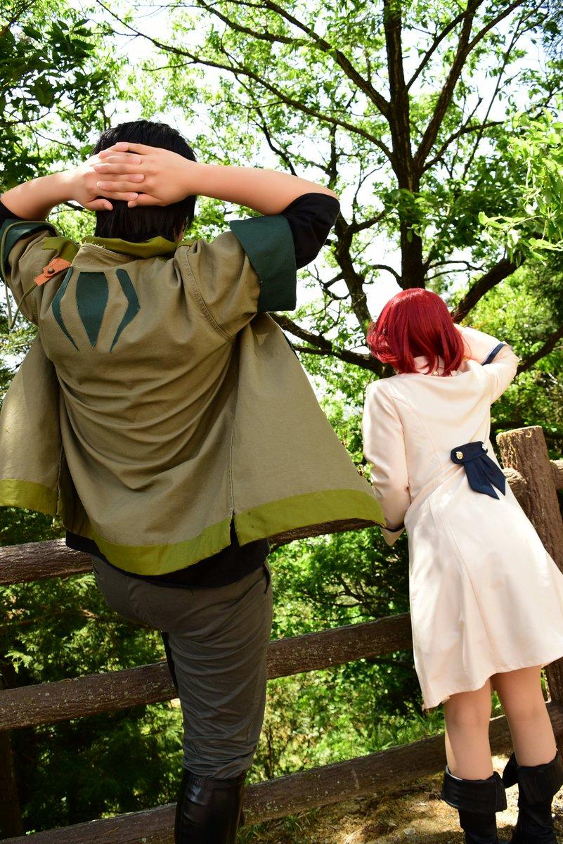 【Cosplay】赤髪の白雪姫オビ:とみー()