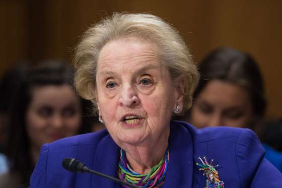Happy Birthday on this day in 1937: Madeleine Albright is born
