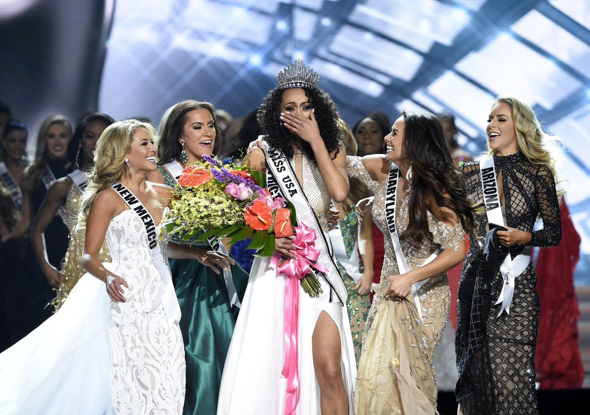 Why a scientist winning Miss USA had people talking about health care and feminism