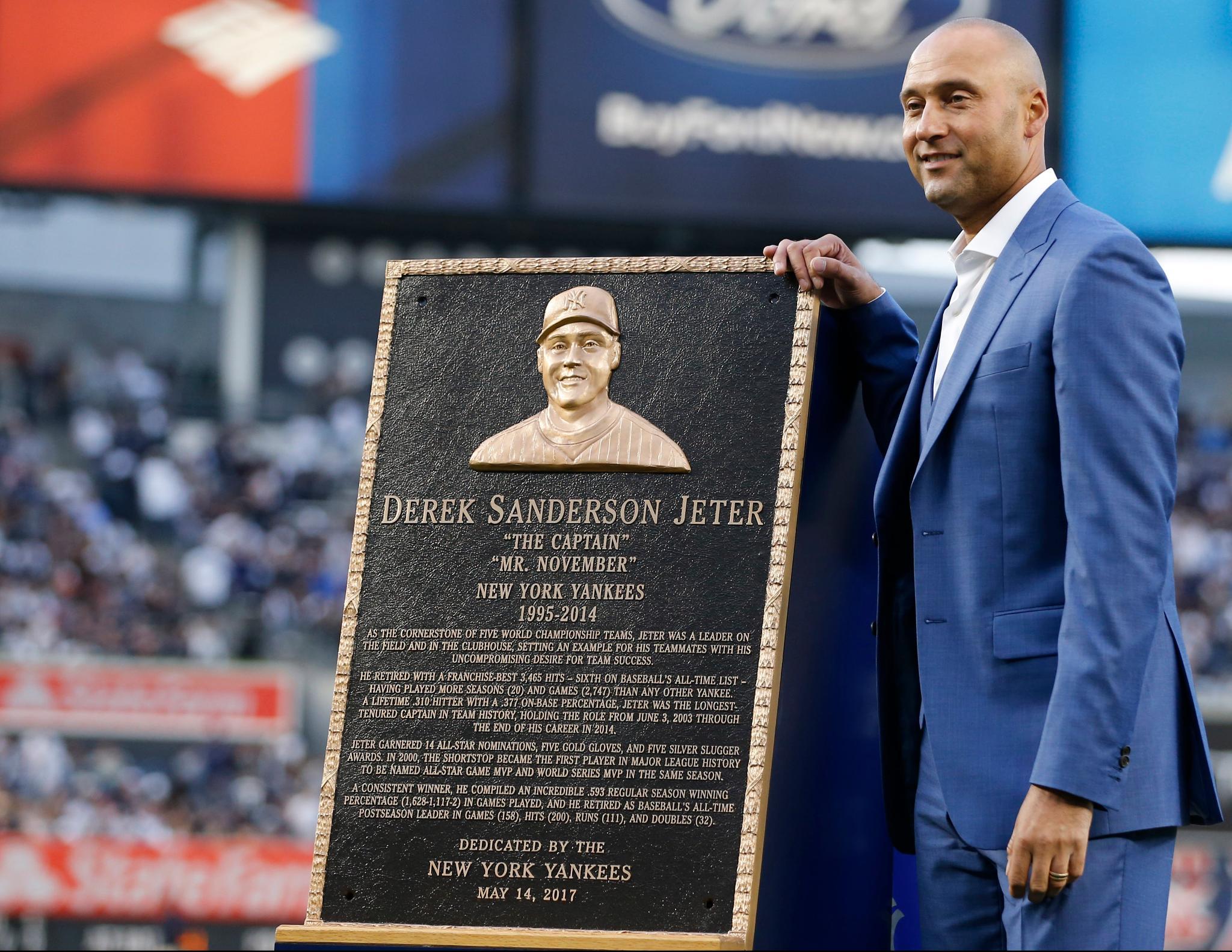 The Captain. Mr. November.  Forever enshrined. https://t.co/yB0gj7vLGj
