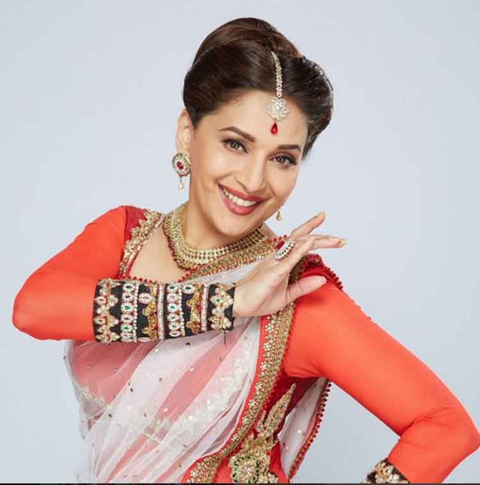 Happy birthday to actress Madhuri Dixit, known for her long and acclaimed Bollywood career!