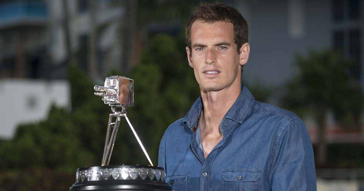 Happy birthday to world tennis No.1 Andy Murray, born Glasgow, 1987.